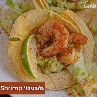 Shrimp Tostadas.