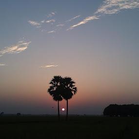 surjo dobar pala.... by Debapriya Bhattacharya - Landscapes Sunsets & Sunrises