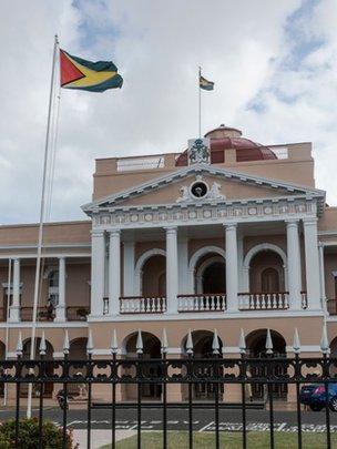Guyana. País de mayor crecimiento económico del mundo.