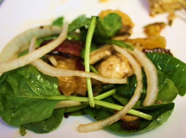 Spinach Salad With Champagne Vinegar Dressing Recipe