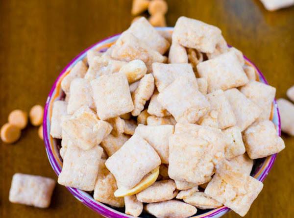 Butterscotch Peanut Butter Puppy Chow Recipe