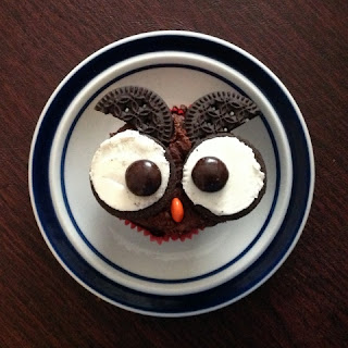 Gluten-Free Owl Cupcakes