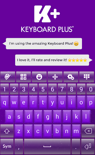 Purple Dust Keyboard