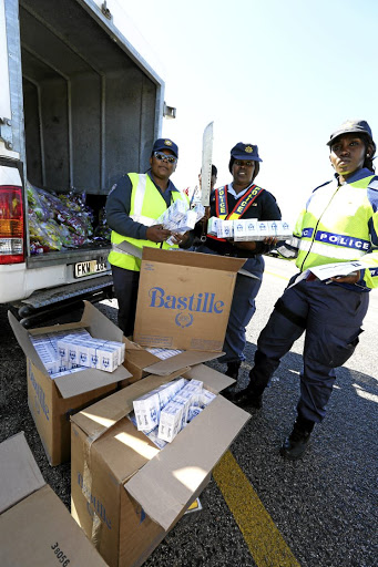 Smoke detectors: The illegal cigarette trade deprives the government of tax revenue and has been linked to various other crimes, such as terrorism and human trafficking. Picture: THE HERALD