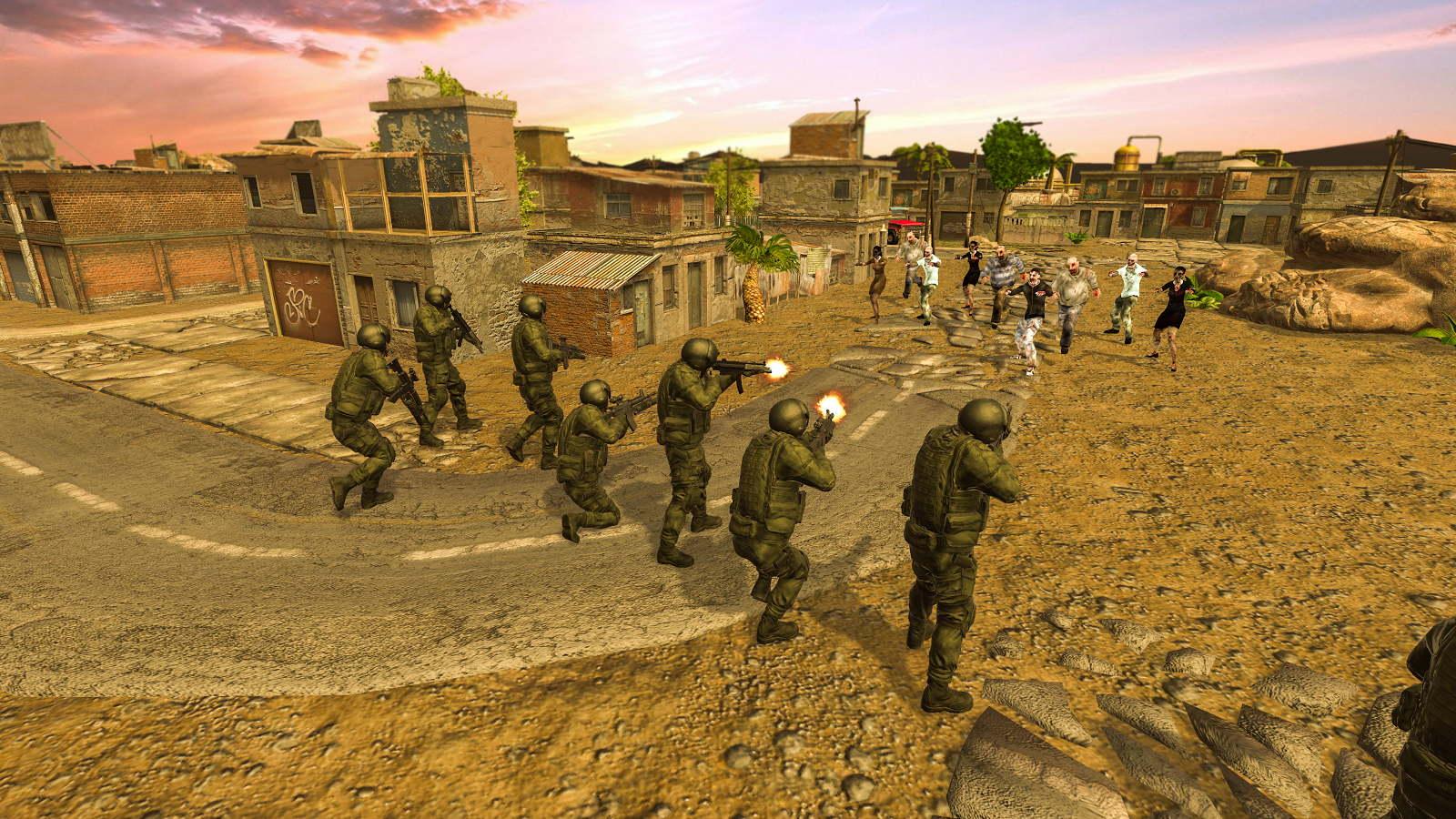 Zombie Hunter 3D Zombie Slayer- screenshot