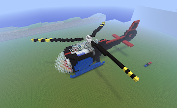 Photo: a helicopter, built by Lithdel