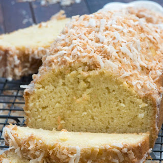 Coconut Pound Cake.