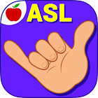 ASL American Sign Language Fingerspelling Game icon