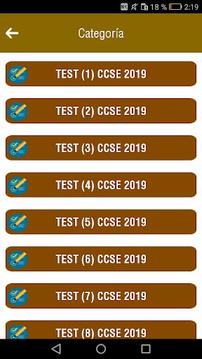 CCSE 2020 Examen Nacionalidad Espau00f1ola screenshots 2