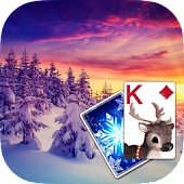 Solitaire Polar Sunrise Theme