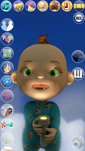 My Talking Baby Music Star 2.31.0 screenshots 7