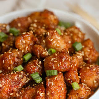 Honey Sesame Seed Chicken.