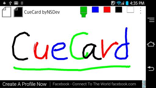 CueCard byNSDev 1.0.3 Windows u7528 1