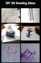 DIY 3D Drawing Ideas - screenshot thumbnail 01
