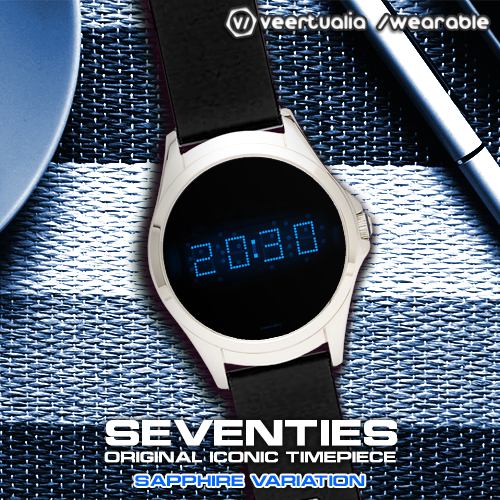 Download LED watch face   Vintage   Seventies Sapphire MOD APK 6
