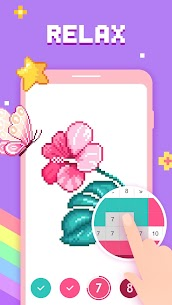 Paint by Number – Pixel Art, Free Coloring Book 3