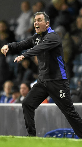 Bleak future: Blackburn Rovers manager Owen Coyle's struggling side host Manchester United on Sunday. Picture: REUTERS