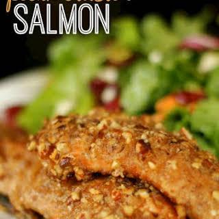 Pecan Crusted Salmon.
