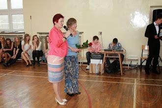 Photo: Zakończenie roku szkolnego klas III podziękowanie pani psycholog Barbarze Choroszewskiej