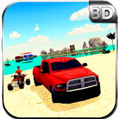 City Beach Rescue Coast Guard Team – Driving Sim