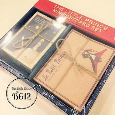 小王子Mini Postcard/心意卡Set