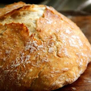 Dutch Oven Crusty Bread.