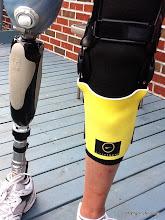 Photo: My livestrong legs! :D)