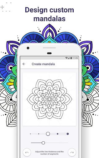 Coloring Book for Me & Mandala screenshot 2