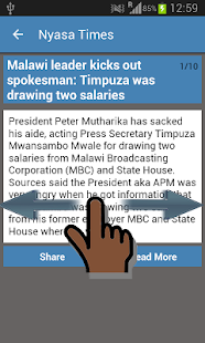 Malawi News & More- screenshot thumbnail