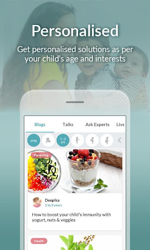 Pregnancy, Parenting Advice & Baby Care Tips App screenshot