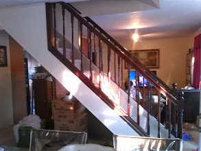 Photo: New banisters for house in Hicksville, NY
