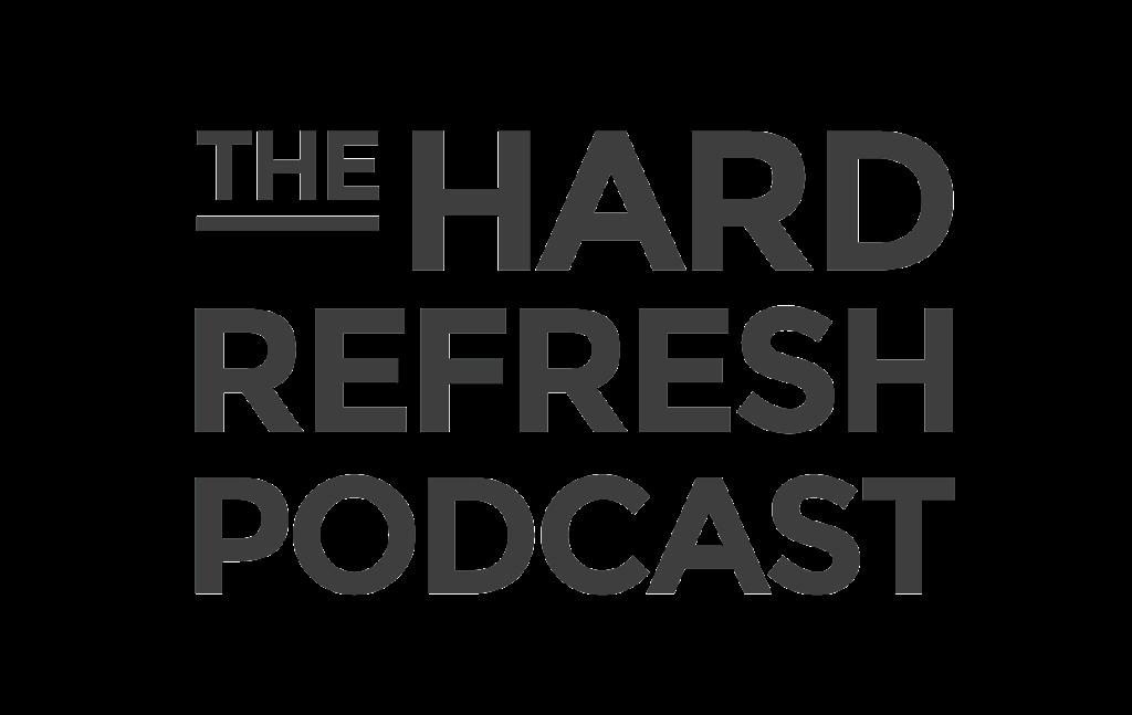 The Hard Refresh Podcast Logo
