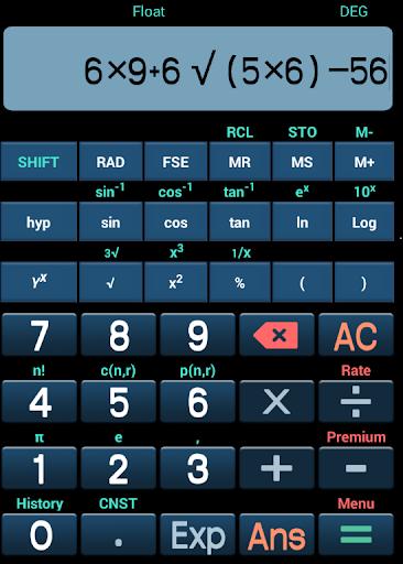 Kalkulator Scientific Lengkap
