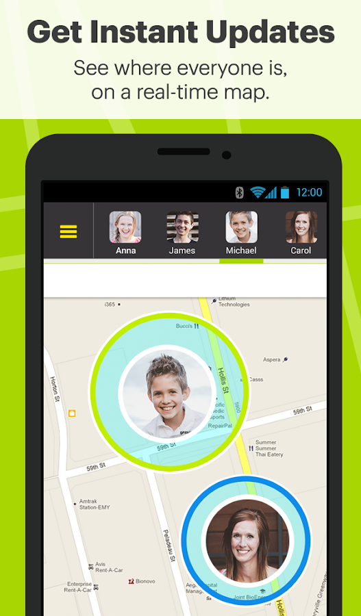 Sprint Family Locator- screenshot