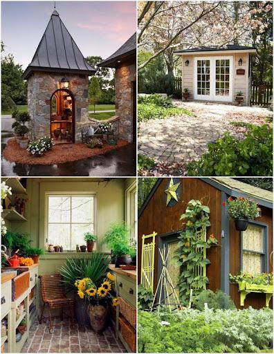 ガーデンデザインを当てます