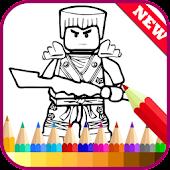 Tải Game Learn Draw for Ninjago Fans