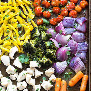 Sheet Pan Chicken and Vegetables.