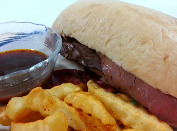 French Dip Subs With Beer Au Jus Recipe
