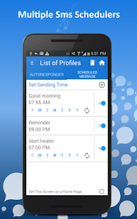 AutoResponder / SMS Scheduler - Auto Text Sender Screenshot