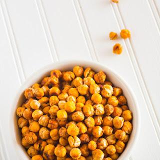 Crispy Roasted Chickpeas Snack Recipe | Nutritarian / Vegan / Gluten-Free.