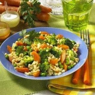 Gemüse-Ebly-Pfanne.