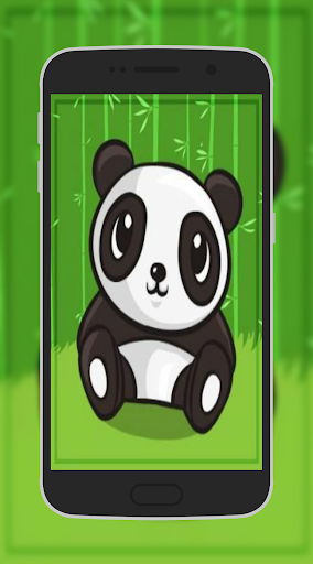 Cute Panda Cartoon Wallpaper HD 1.1 screenshots 1