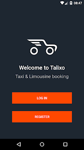 TALIXO - Taxi & Limo Booking screenshot 0