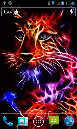 Sparkling tiger cub Live WP