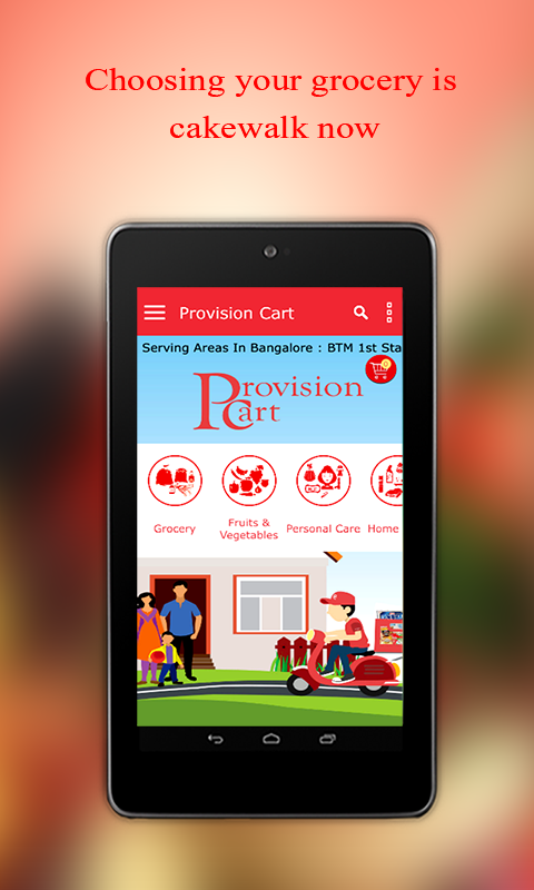 Provision Cart - Grocery- screenshot