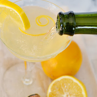 Meyer Lemon French 75.