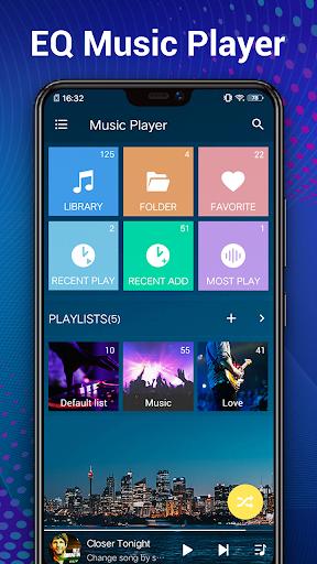 Music Player - Audio Player 3.6.8 screenshots 2