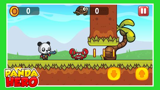 Panda Hero : Jump and Shooter Game 1