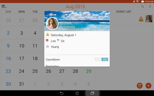 ASUS Calendar screenshot 12
