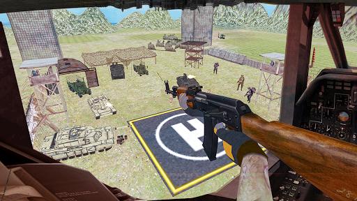 Code Triche Hu00e9licoptu00e8re Tournage Gunship Guerre APK MOD screenshots 2
